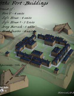 18thc Fort Buildings