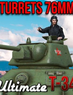 Ultimate T-34: Turrets 76 mm