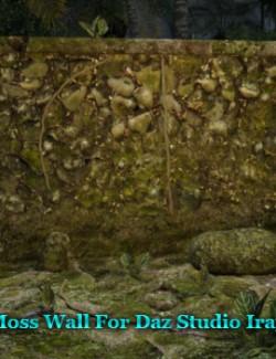 Moss Wall Prop For Daz Studio Iray