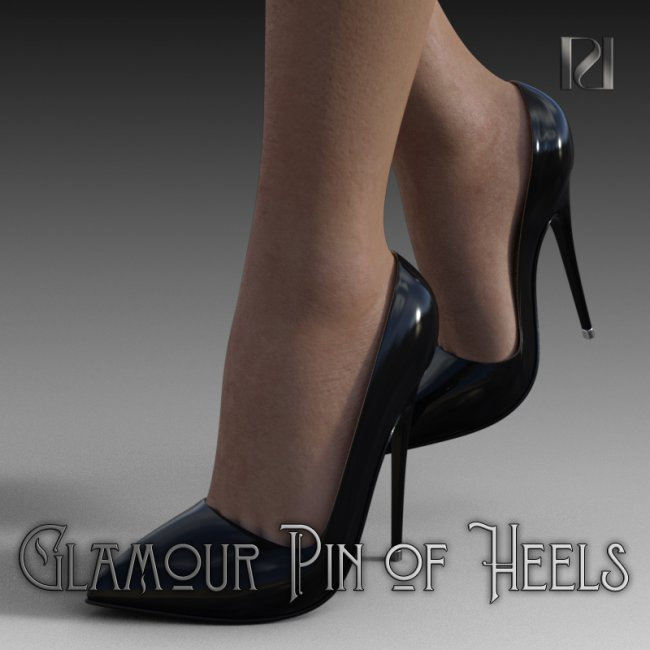 Glamour Pin of Heels 02