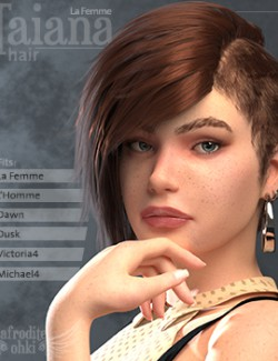 Taiana Hair for La Femme and more
