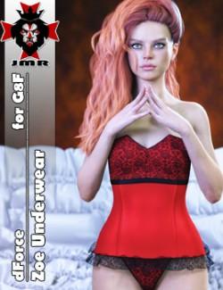 JMR dForce Zoe Underwear for G8F