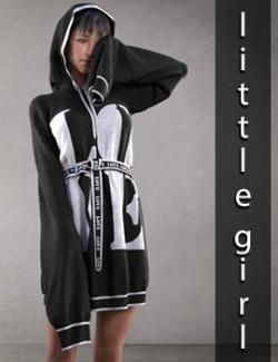 Little Girl dForce clothing for G8F