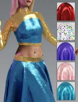 Glitz and Glam Fabric Iray Shaders