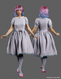 dForce Candy Magic Dream Outfit for Genesis 8 Females