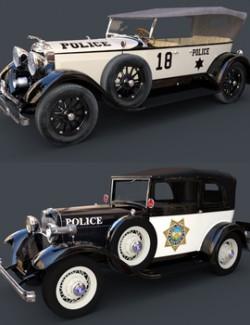 PROHIBITION POLICE CAR BUNDLE for DAZ