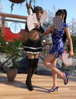 Props and Poses Converter from Genesis 2 Female to Genesis 8 Female