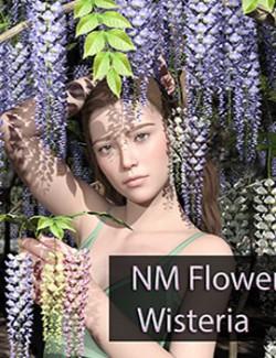 NM Flower Wisteria