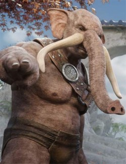 Elebeast for Genesis 8 Male