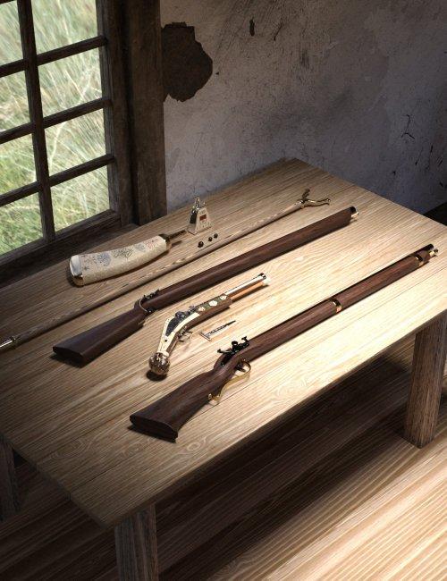 Renaissance Firearms Set