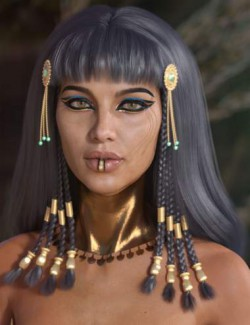 Cleo Hair for Genesis 3 and 8 Female(s)