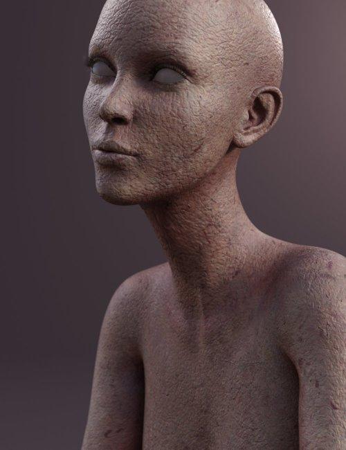 Merchant Resource: Unholy Skin for Genesis 8.1 Female