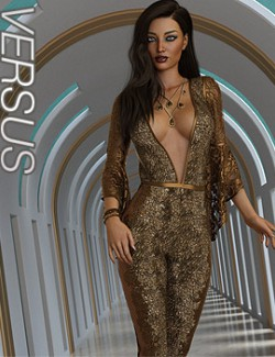VERSUS- dForce Lea Homewear Outfit for Genesis 8.1 Females