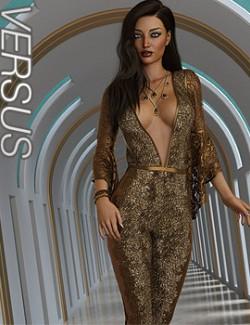 VERSUS- dForce Lea Homewear Outfit for Genesis 8.1 Females