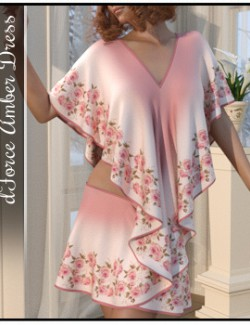 dForce - Amber Dress for G8F & G8.1F