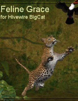 Feline Grace Poses for Hivewire Big Cat