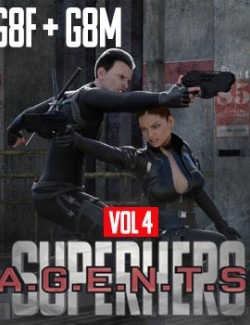 SuperHero Agents for G8F and G8M Volume 4