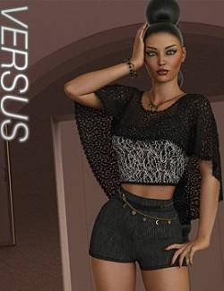 VERSUS- dForce Whitney Outfit for Genesis 8.1 Females