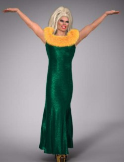 Drag Queen Outfit for Genesis 8 Males