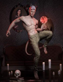 Hell Hunt Poses and Expressions for Torment 8.1 & Genesis 8.1 Male