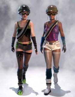 Anarkia Outfit Textures