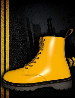Fashion Basics: Classic Boots for Genesis 8.1 and Victoria 8.1