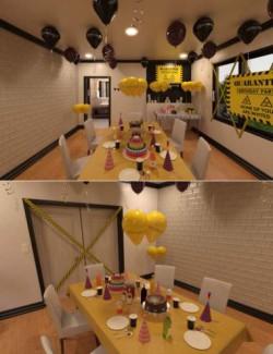 Quarantine Birthday Setup