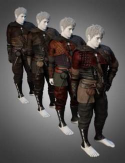 dForce Quest Bound Outfit Textures