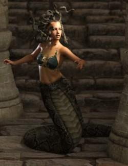 Medusa's Revenge Hierarchical Poses for Medusa