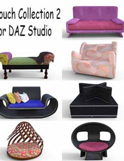 Couch Collection 2 for DAZ Studio