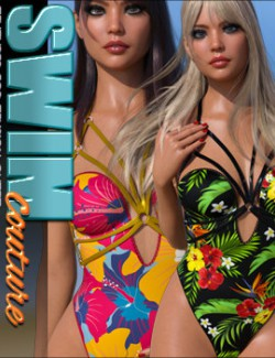 SWIM Couture Textures for Tension Outfit