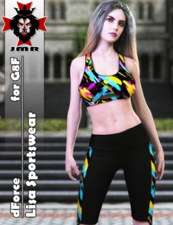 JMR dForce Lisa Sportswear for G8F
