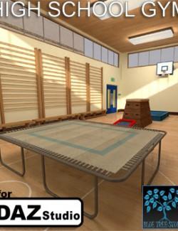 High School Gym for Daz