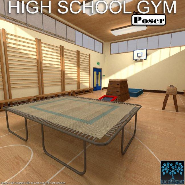 High School Gym for Poser