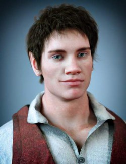 Folco The Halfling HD for Genesis 8 Male