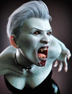 Neferata Vampire HD for Genesis 8.1 Female