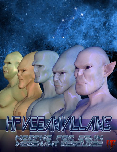 HF VEGAN VILLAINS FOR GENESIS 8.1 MALE - MR