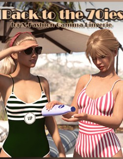Back to the 70ies for X-Fashion Gamma Lingerie