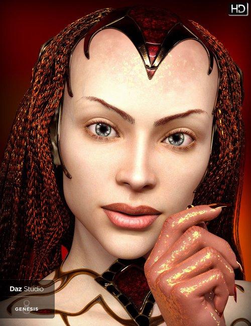 Wenisha HD for Genesis 8 and 8.1 Female