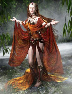 dForce Lady of Mists Outfit for Genesis 8 Female