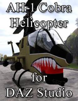AH-1 Cobra Helicopter for DAZ Studio