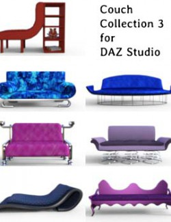 Couch Collection 3 for DAZ Studio