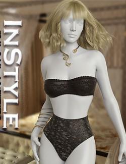 InStyle - X-Fashion Basic Lingerie Set