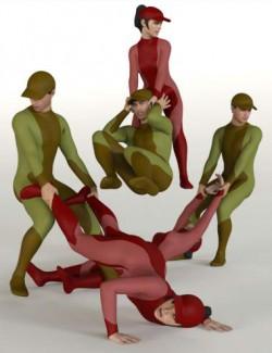 Dragging People Poses for Genesis 8
