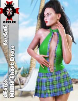 JMR dForce Millie Short Dress for G8F