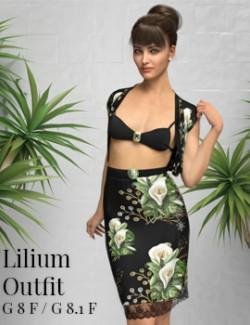 dForce- Lilium Outfit G8F
