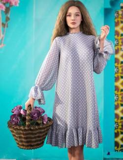dForce Lady Dress for Genesis 8 Females