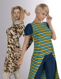 Merchant Resource Knit Collection: Camouflage and Stripes