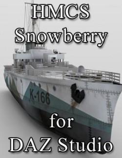 HMCS Snowberry for DAZ Studio