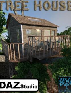 Tree House for Daz
